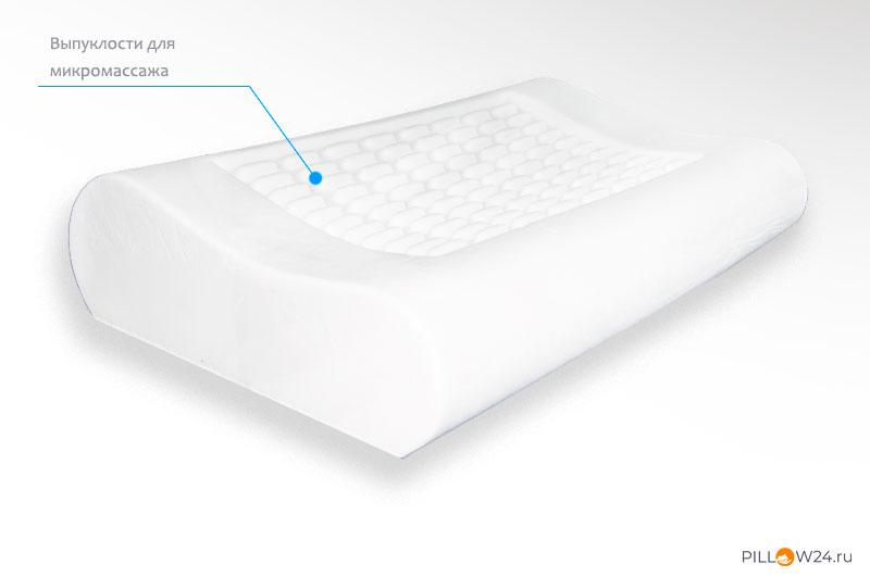 Дополнительный бонус от подушек с микромассажем
